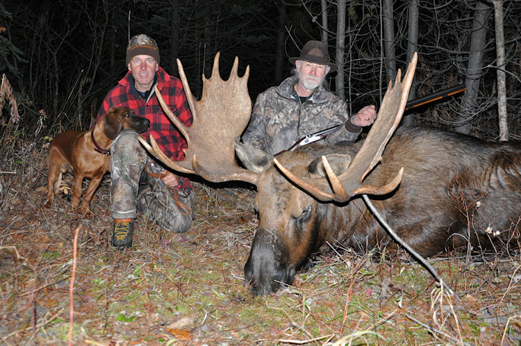 B Moose Hunting Driftwood Valley Outfi...